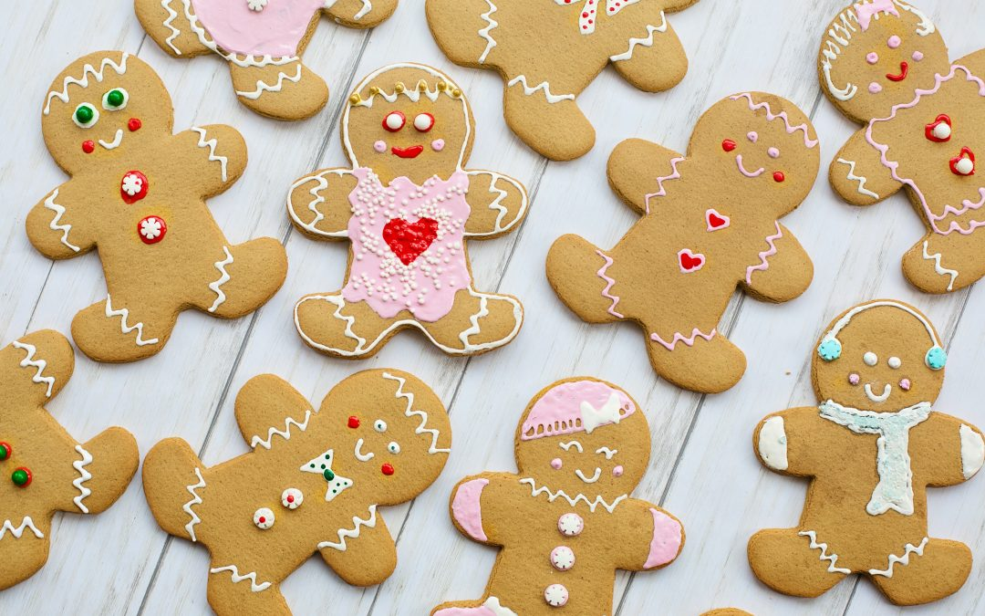 Holiday Healthy Recipe: Almond Gingerbread Cookies