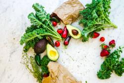 avocado and kale