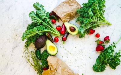 Fertility Friendly Recipes: Sweet Gua-Kale-Mole Dip